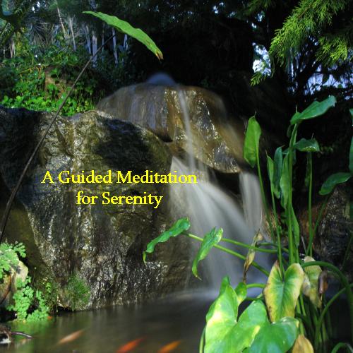 Serenity meditation cover2